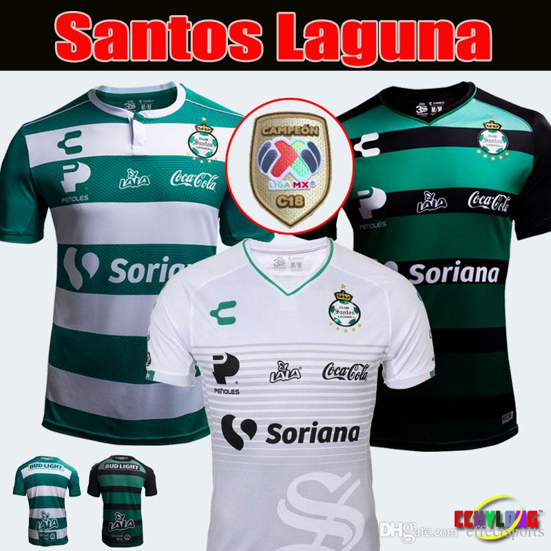 f98a6644243 2019 2019 MEXICO CLUB CHARLY Laguna Soccer Jersey Third Home 18 19 LIGA MX  Rivas Lozano 2018 LEON Atlas Club De Cuervos Football Shirt From  Effectsports