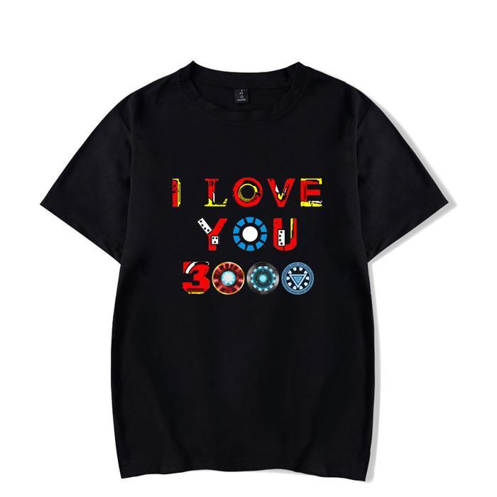 a0e6cd738 Men T Shirts I Love You 3000 Three Thousand Times Awesome Cotton Tees  Avengers Endgame T Shirts Iron Man Clothing Plus Size Z12 T Shirt Quotes  Mens Dress ...