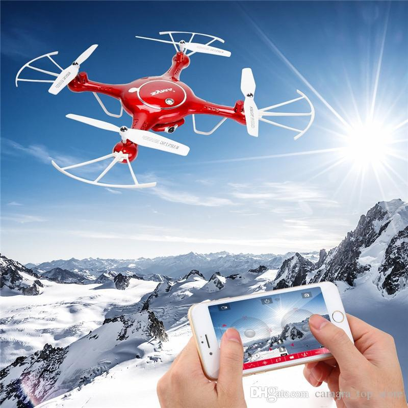Syma X5UW Drone with WiFi Camera HD 720P Real-time Transmission FPV Quadcopter 2.4G 4CH RC Helicopter Drone Quadrocopter With 4GB Micro SD