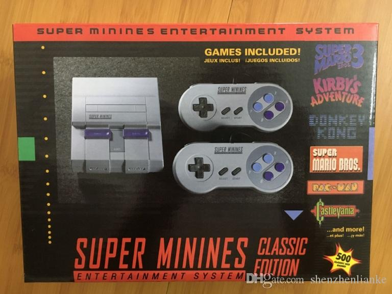 Super NES Mini Classic Game Console For NES Classic Retro TV Video Game Console MINI SNES
