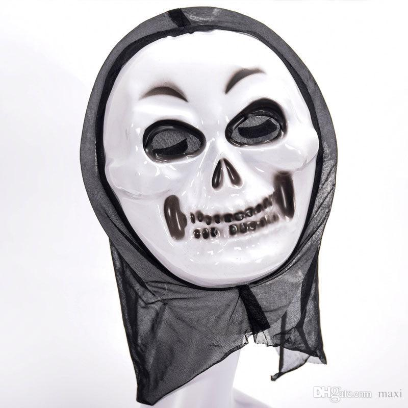 Maxi Halloween Horror Grim Reaper Mask Halloween Screaming Ghost Festival Ghost Face Party Mask for Night Club, Party, DHL Shipping