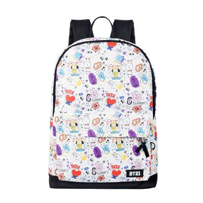 hot sale new students backpack for boys and girls high quality unisex school bag lovely students bag computer pack