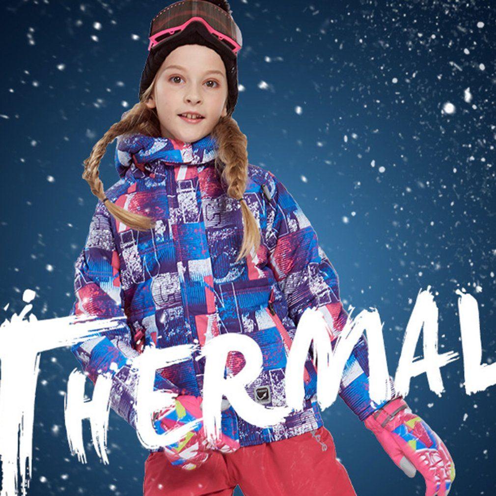 Phibee Boys Girls Ski Suit Waterproof Pants+Jacket Set Winter Sports  Thickened Clothes Children s Ski Suits 2018 Snowboarding Sets Cheap  Snowboarding Sets ... 192c34d53
