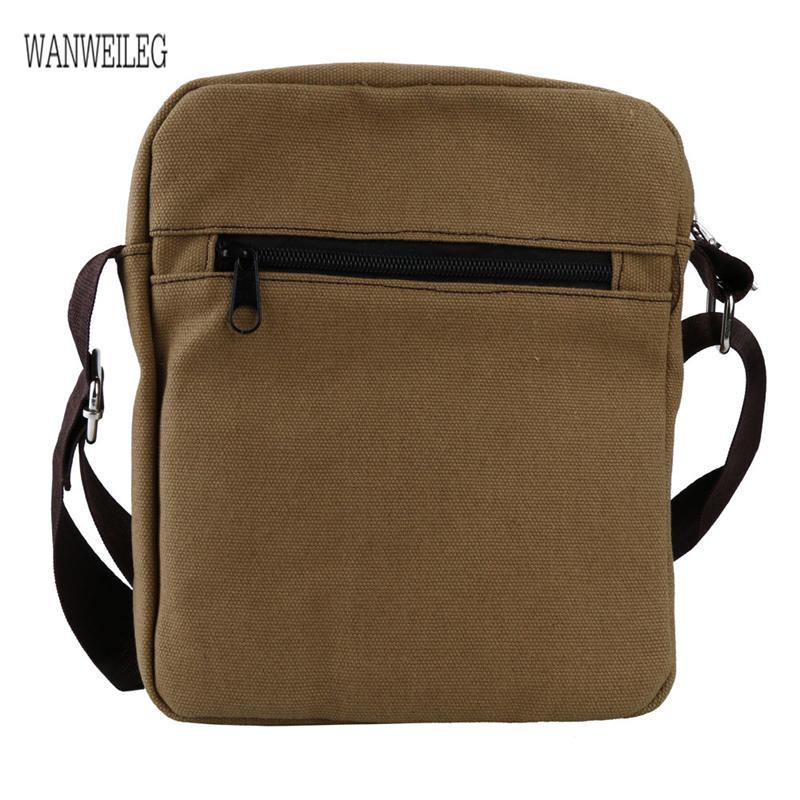 Engagement & Wedding 100% Quality 2019 Mens Bags Fashion Travel Canvas Shoulder Bags Sport Messenger Phone Bags Men Crossbody Satchel Storage Bags 100% High Quality Materials
