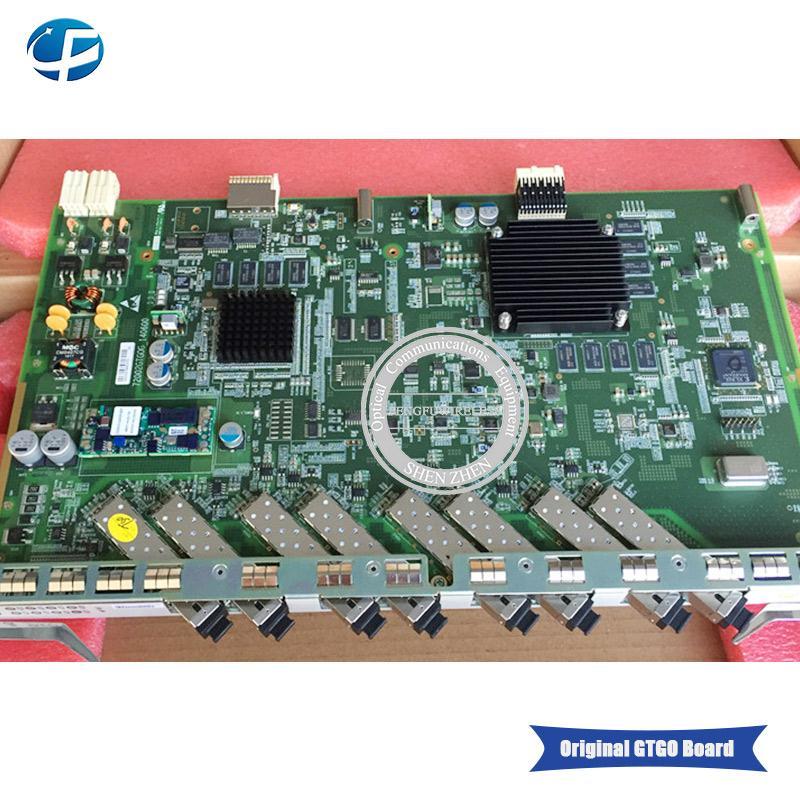 High quality ZTE GTGO B 8 port GPON board with B 8 pcs SFP modules,use for  ZXA10 C300 C320 GPON OLT