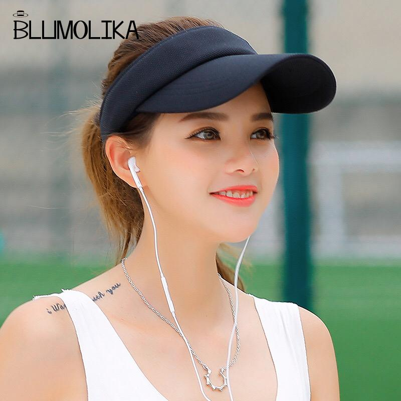 ba67d8a6307 Hot Selling New Tennis Caps Stylish Women Men Unisex Beach Sports Sun Visor  Hat Golf Caps Summer Travel Sun Hat Outdoor On Sale D19011103 Mens Hat  Sunhat ...