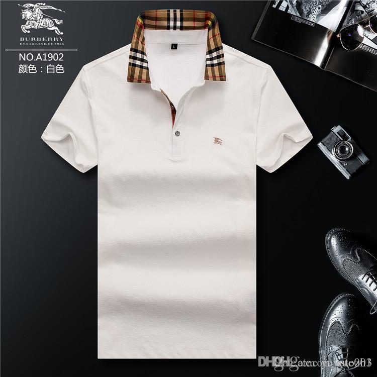 757be0ecea Compre Guozh Encontre Semelhantes Primavera Itália Tee T Shirt Designers Camisas  Polo High Street Bordados Garter Cobras Pouco Abelha Impressão Roupas Me De  ...