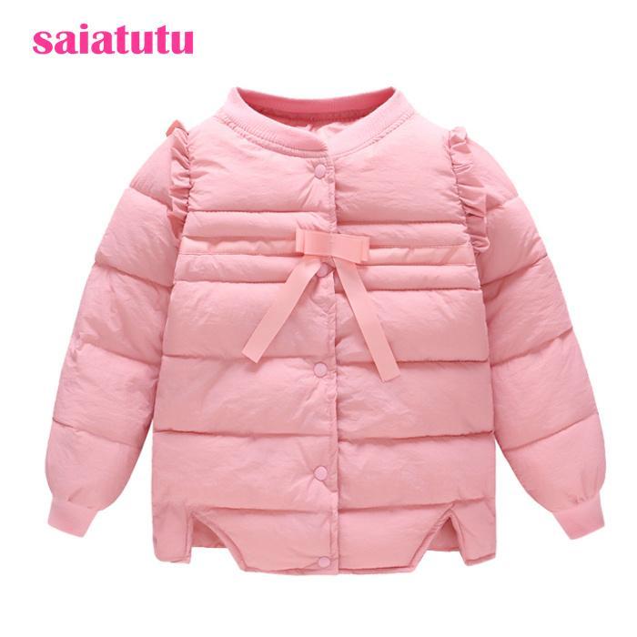 be0cd6498 Pink Princess Fashion Japanese Baby Kids Children Winter Clothing ...