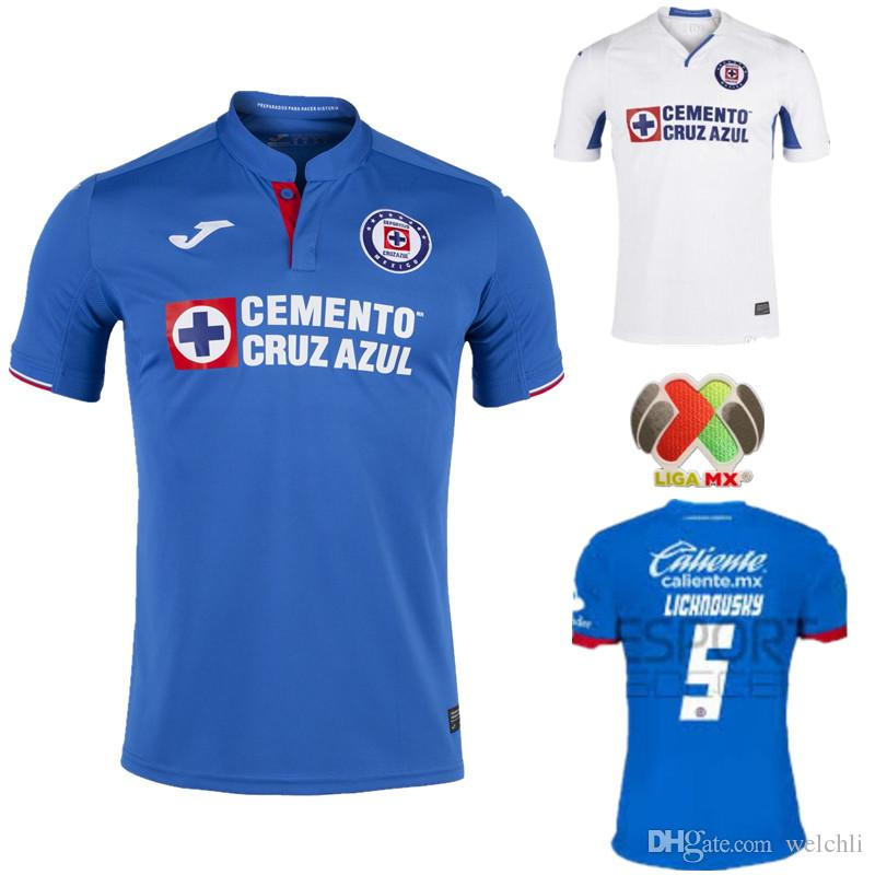 d23af2049 2019 Perfect 2019 2020 Mexico Club Cruz Azul Liga MX Soccer Jerseys 19 20  Home Blue Away White Football Shirts Camisetas De Futbol S 2XL From  Welchli