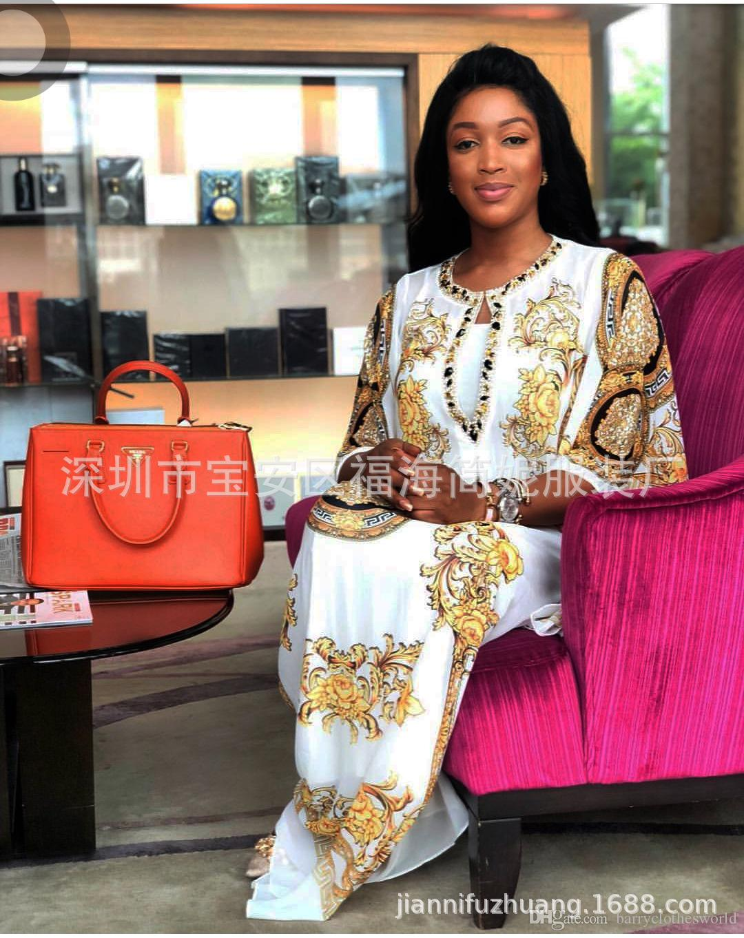 03d7e066b 2019 African Dresses For Women African Clothes Africa Dress Print Skirt  Dashiki Ladies Clothing Ankara Plus Size African Women Dresses From ...