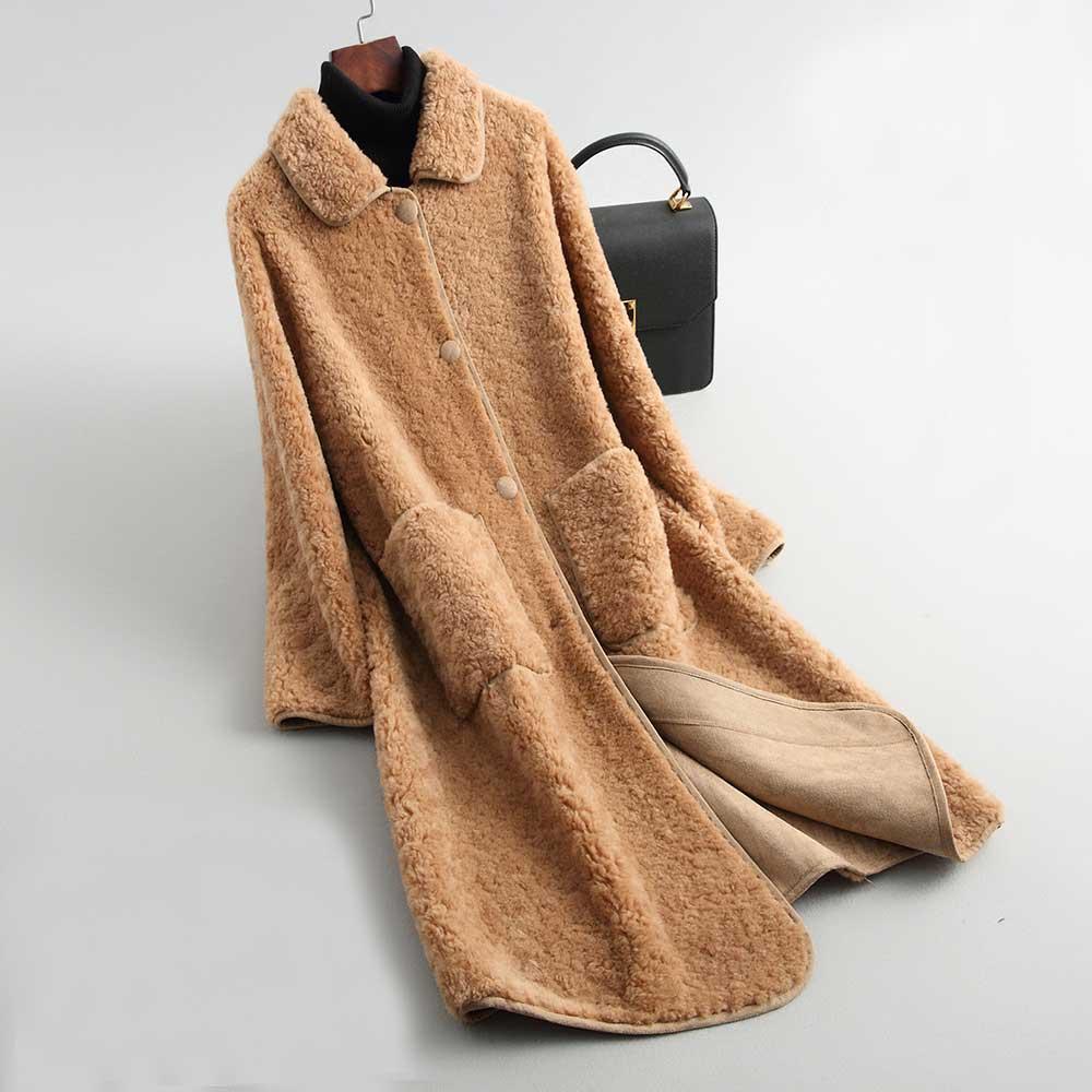 Veste interieur laine femme