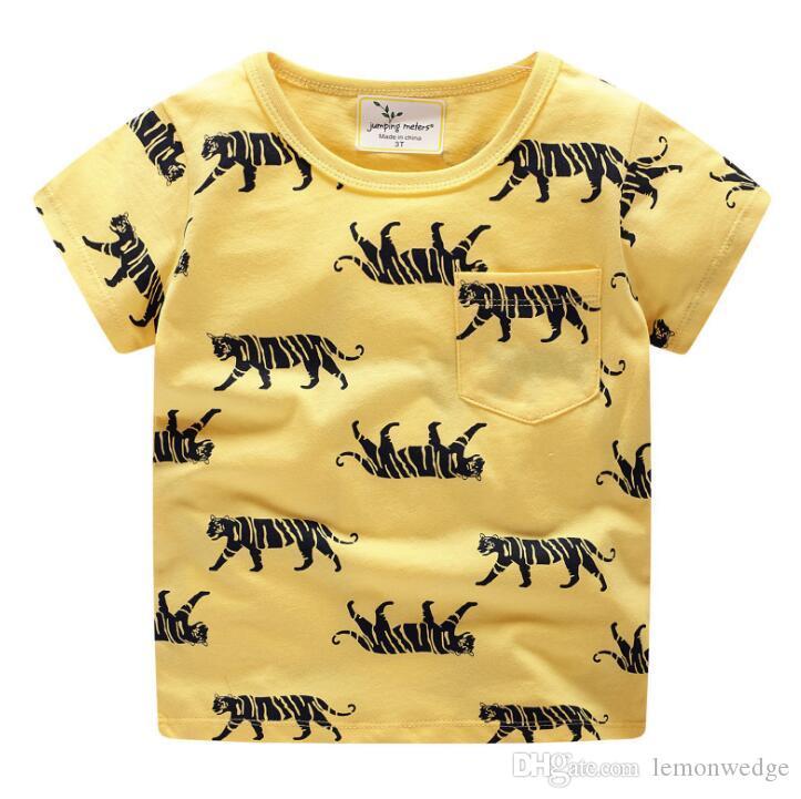 18866e99091 2019 Kids Baby Clothes Christmas Summer Cartoon Tops Casual T Shirt Tees  Fashion T Shirt For Little Boys Girls From Lemonwedge