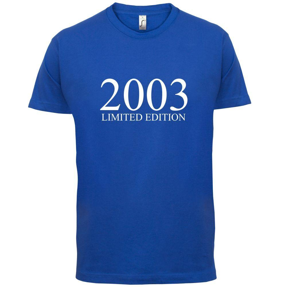 Limited Edition 2003 Mens T Shirt 13 Colours