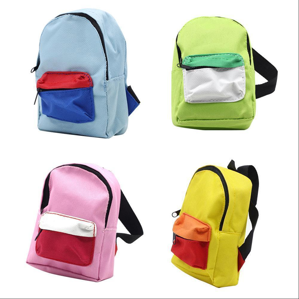 Doll Mini Backpack Canvas Fashion Simple Casual Cute School Student Bags  For Children Kids Doll Backpacks For Girls Bady Bag Side Bags Kids Backpack  From ... e2842cd0e0f2a
