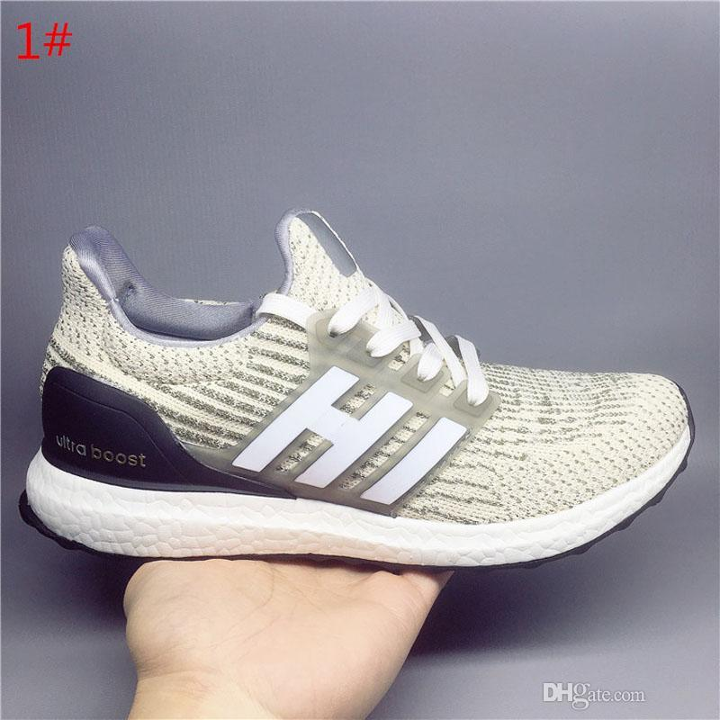 ef975aca70840 Ultra Boost 3.0 4.0 Run Shoes Men Women High Quality UltraBoost 3 III  Primeknit Runs White Black Athletic Shoes Eur 36 47 Leather Shoes Dress  Shoes For Men ...