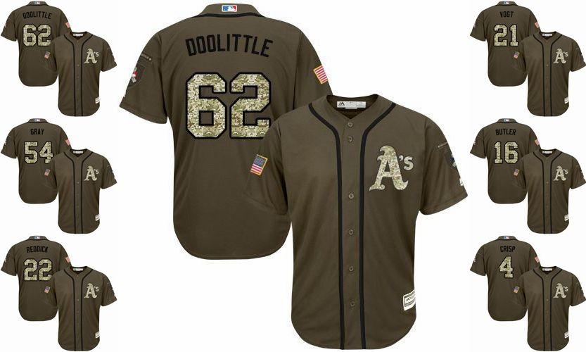 14a8b69d8 2019 Athletics Player Baseball Cool Base Jerseys  4 Coco Crisp 24 ...
