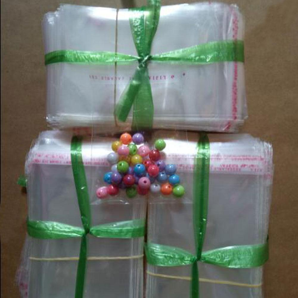 / Transparent Self Adhesive Seal Plastic Bags OPP Poly Self Sealing Plastic Clear Cellophane Bags for Gifts Packaging Bags