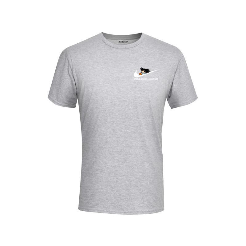 6f29e19a T-Shirt Men's Summer Z Super Son Goku Slim Cosplay 3D T-shirt Drawstring  Material Men