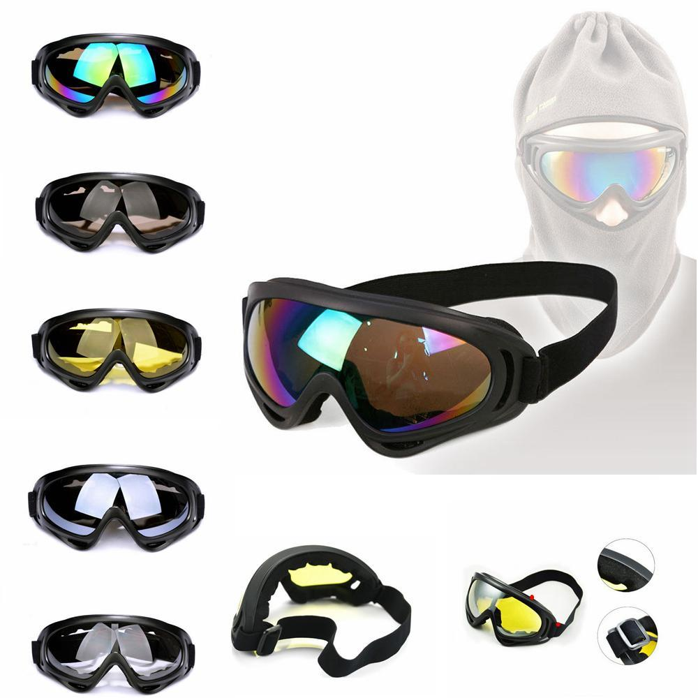 Motorcycle Goggles Cycling Windproof Dustproof Outdoor ski Snowboard Sun Glasses UV400 Sunglasses Cycling Motocycle 5 COLORS FFA116 20PCS