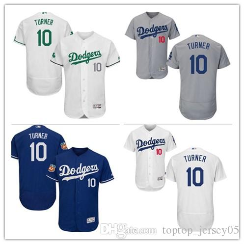 2019 2018 Los Angeles Dodgers Jerseys  10 Justin Turner Jerseys  Men WOMEN YOUTH Men S Baseball Jersey Majestic Stitched Professional  Sportswear From ... 5453b4cf653