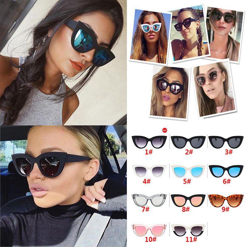 1d582406ac Compre 2019 Nuevo Ojo De Gato Mujer Gafas De Sol Tintadas Lente De Color  Hombres Gafas De Sol De Gafas De Gafas De Gafas De Sol De Gafas De Gafas De  Sol ...