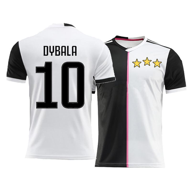 New 2019 2020 DYBALA Soccer Jersey Men Kids 18 19 Home Football ... c08e45cab