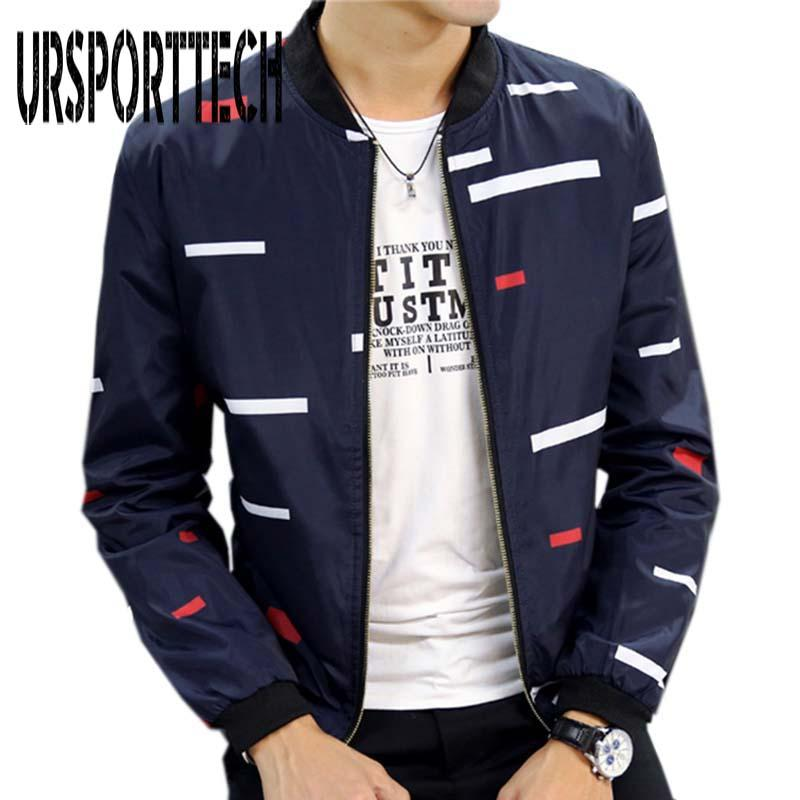 d23e6b2baf3 2017 New Arrival Spring Autumn Men s Jackets Solid Fashion Coats ...