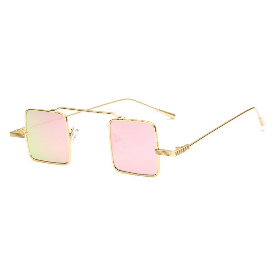 3b6045259b Women Square Retro Sunglasses Lady Small Rectangle Metal Sun Glasses Men  Vintage Metal Square Female Eyeglasses UV400 LJJR415 Cool Sunglasses Custom  ...
