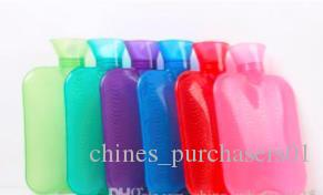 Wholesale New Arrival Transparent Multi Color High Density Safety Hot Water Injection Bag Portable Handed Thicker Warm Winter Bag