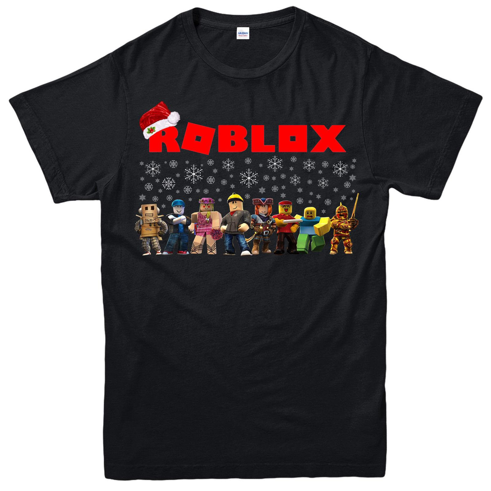 Shirt Unisex T Gift Children Roblox Gamers Family Christmas kZTOuPXi