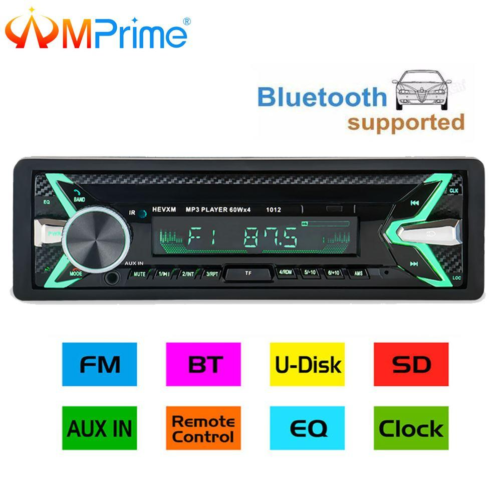 amprime car radio stereo player bluetooth phone aux in mp3 fm usb 1amprime car radio stereo player bluetooth phone aux in mp3 fm usb 1 din remote control 12v car audio auto 2018 new sale car speakers system car stereo from
