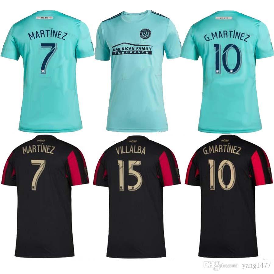 29107e8bc2f 2019 MLS Parley 2019 2020 Atlanta United FC Jerseys Soccer Jersey Football  Shirt 19 20 MLS Parley Atlanta United Kits MARTINEZ Football Tops Tee From  ...