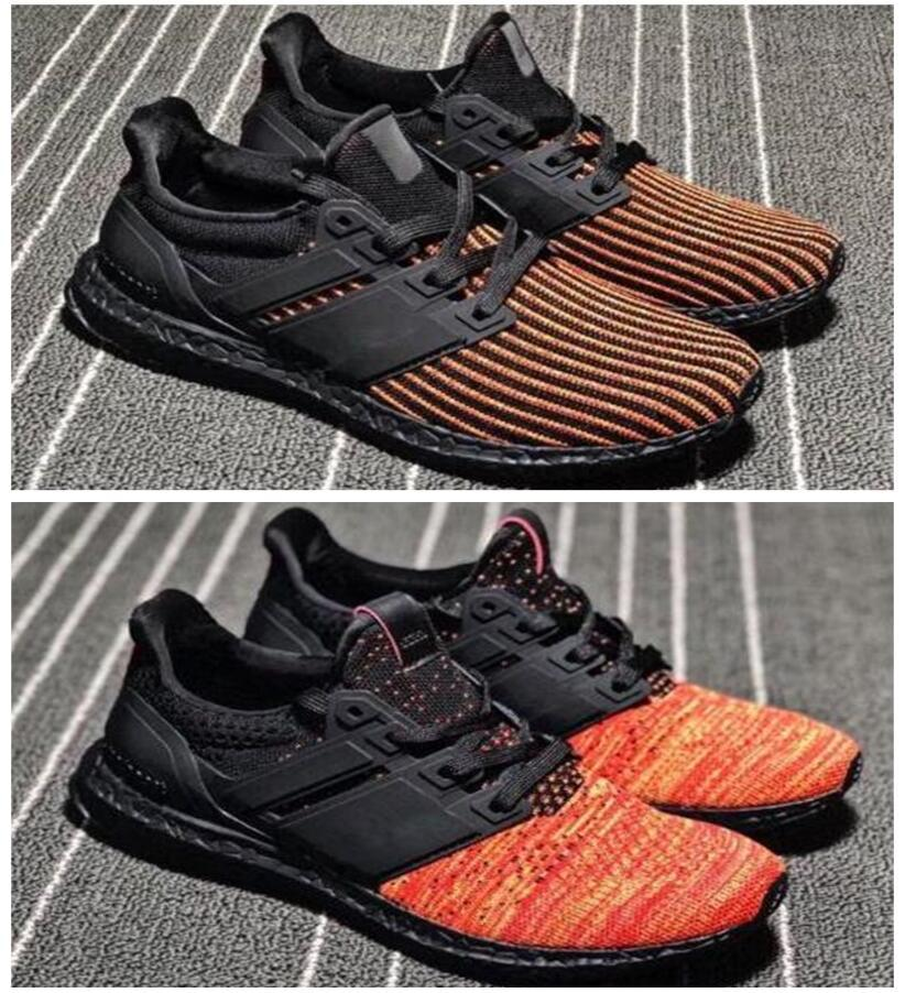 new concept 80cd8 3844b Ultra Boost 4.0 casual shoes Show Your Stripes Breast Cancer Awareness CNY  Black Multi Color Men Womens Real Size