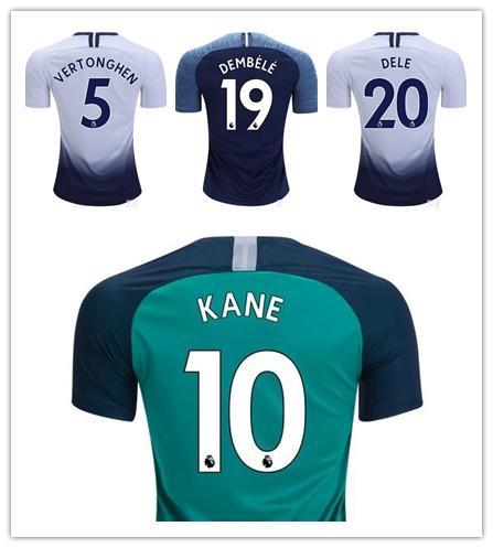 6a760a181 Mens Soccer Jersey 2019 DELE Football Shirt Top Kits 18 19 DEMBELE ...