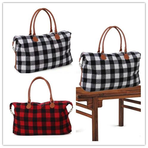 2ce76a935d Big Plaid Duffel Bags Men Women Checkered Travel Portable Large Capacity  Luggage Bag Casual Handbag Designer Sports Yoga Fitness Tote New Girl Totes  Girls ...