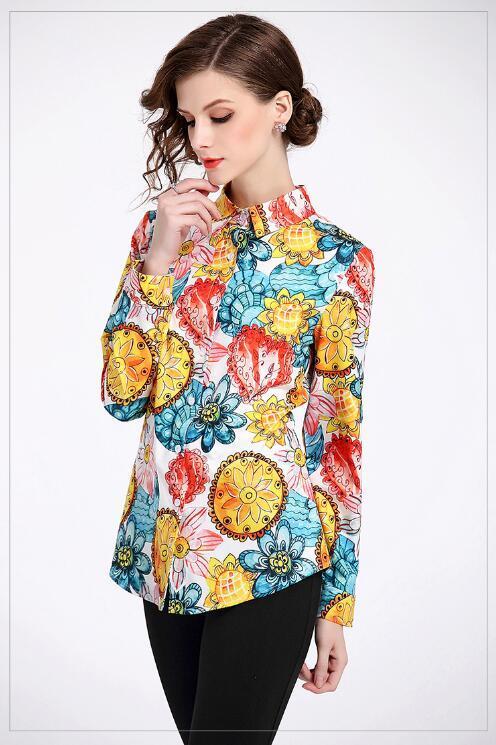 fotos oficiales 71695 e2104 las blusas hawaianas y de flores. elegantes y divertidas ...