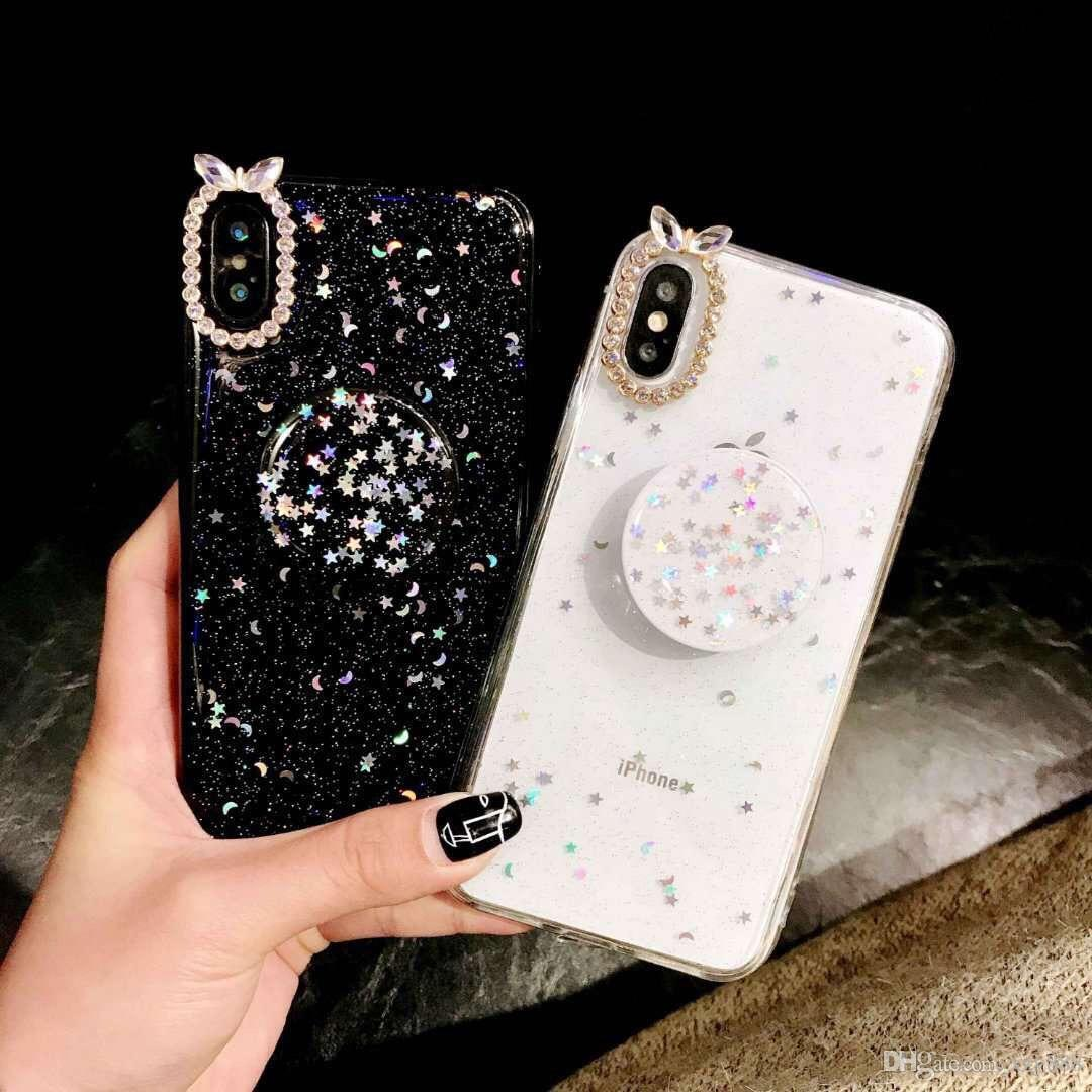 1cc93d44e293 Fashion Designer Phone Case For Iphone XR XS Max Mobile Pone Cover With  Dimond Air Bag Kickstand Support I6S I7 I8 Plus Cell Phone Covers Phone  Cover From ...