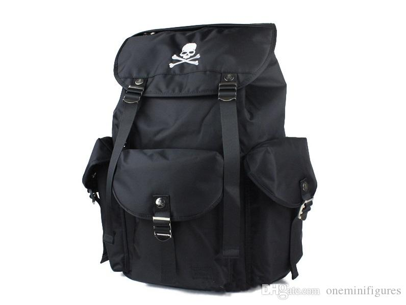 114d438c07 Tokyo Porter Backpack Multifunction Fragment School Bag Waterproof Skull  Embroidery Backpack Dark Knight Shoulder Bag 89. Dakine Backpack Best  Backpack From ...