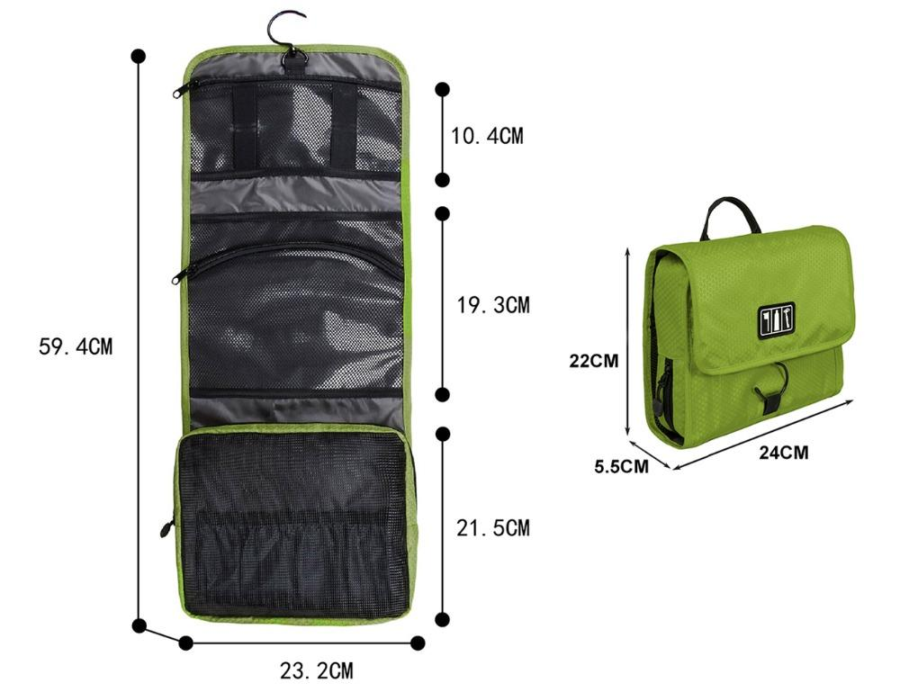 d51d29d557de Uggage Packing Bags BAGSMART Waterproof Travel Toiletry With Hanger Cosmetic  Packing Organizer Wash Bag Makeup Bag Pack Your Luggage Su... Online Bags  ...