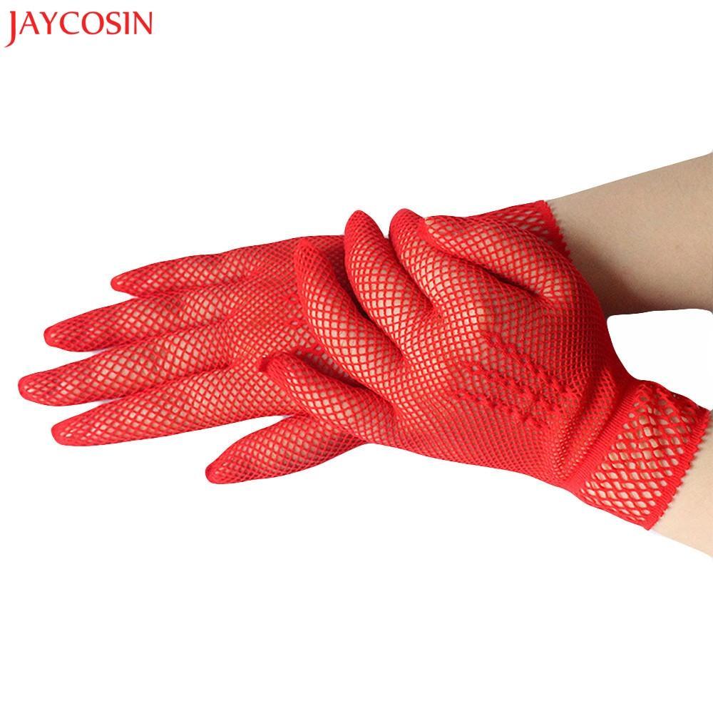 03ef40f21cc674 Großhandel JAYCOSIN Frauen Handschuh Damen Mädchen Neon Sexy Kurze  Fingerlose Netzstrumpfhose Hohe Elastizität Handschuhe Schwarz, Weiß, Rot  Z1123 Von Tonic ...