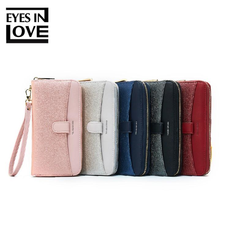 7800c0e5bd5d New Style Envelope Designer Clutch Wallets For Women Hasp Pocket To Coin  Card Holder Female Purses Long twinkle Wallet Ladies