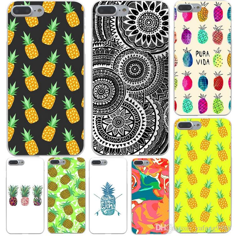 reputable site 5fa3d 6d0f0 The pineapple Cartoon Beautiful Hard Phone Cover Case for iphone XS Max XR  X 8 7 6 plus with package