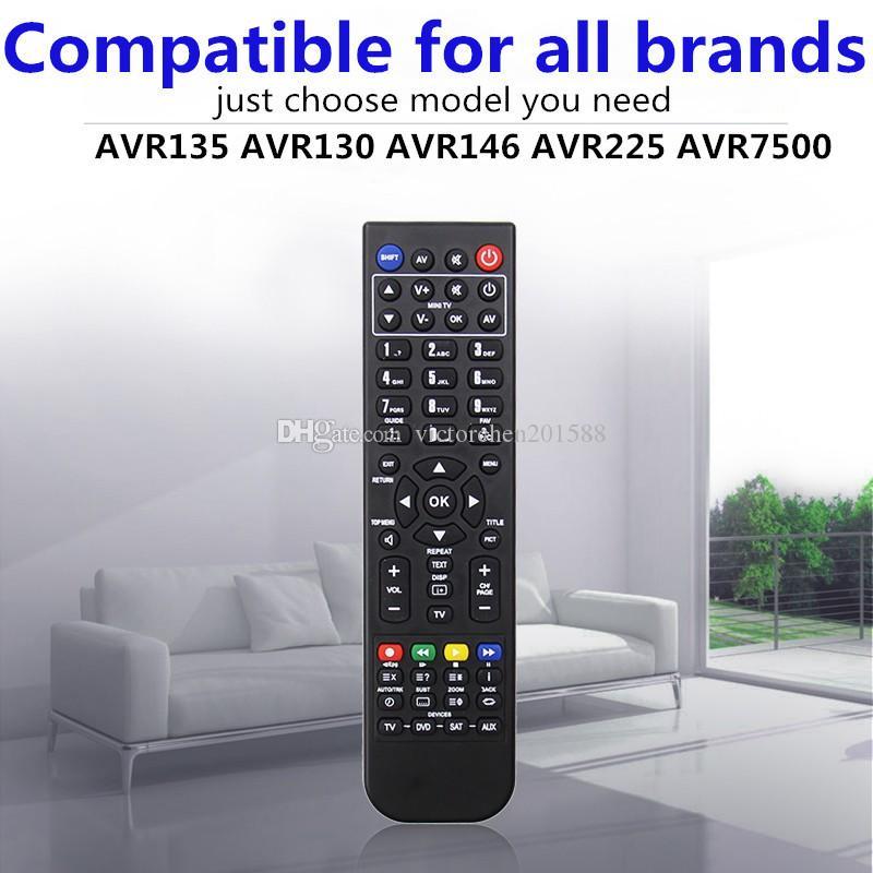 High quality cheap price black Replacement universal remote control for  HARMAN KARDON AVR135 AVR130 AVR146 AVR225 AVR7500
