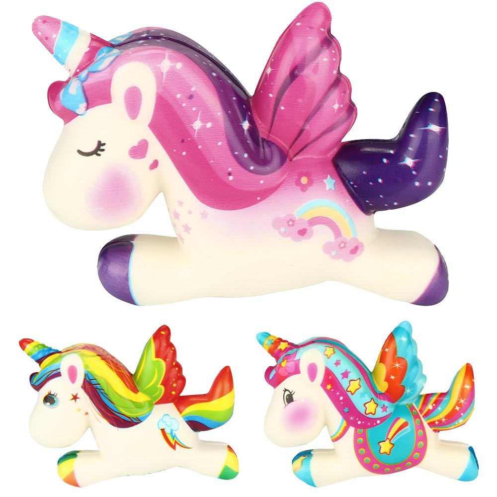 Bohs Squishy Unicorn Slow Rising Antistress Relief Squash Squishe Toys The Latest Fashion Toys & Hobbies Squeeze Toys