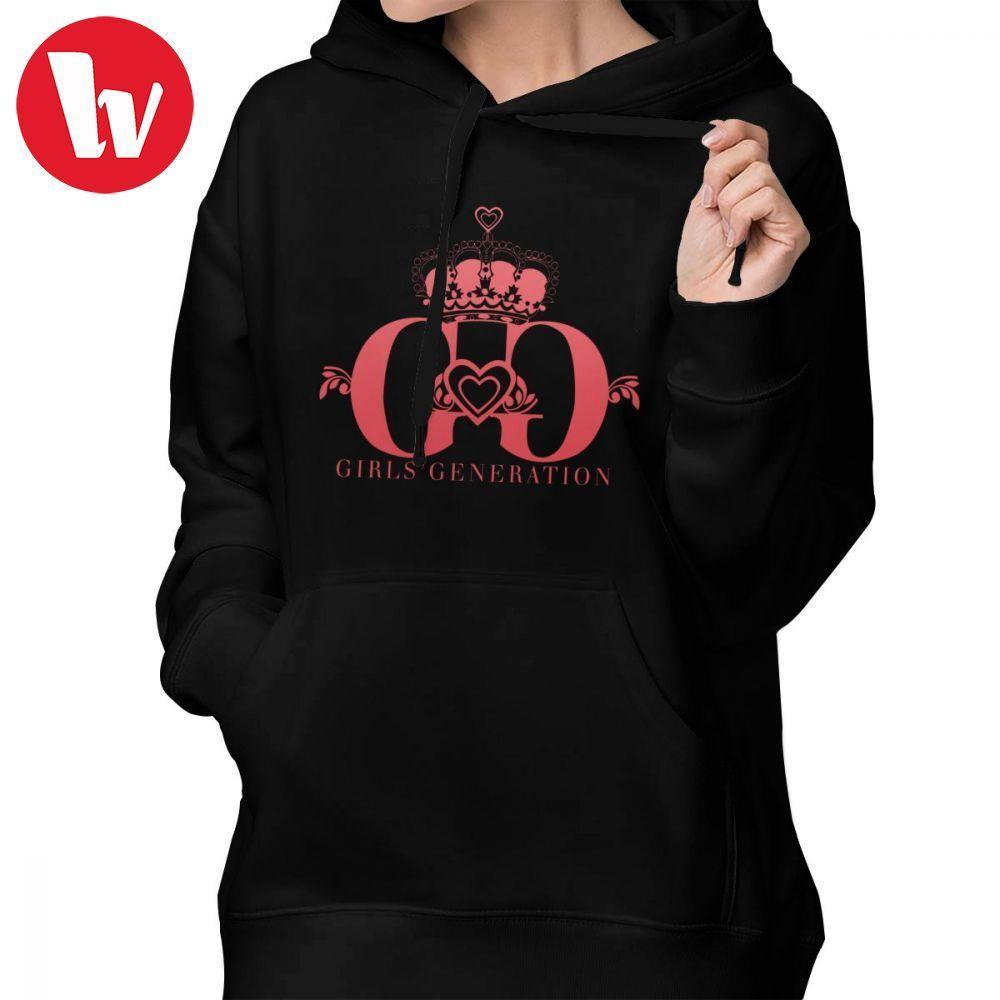 2019 Girls Generation Kpop Hoodie Girls Generation Hoodies Cotton Trendy  Hoodies Women Long Sleeve Graphic Navy Blue Pullover Hoodie From Lichunn 1339935f71