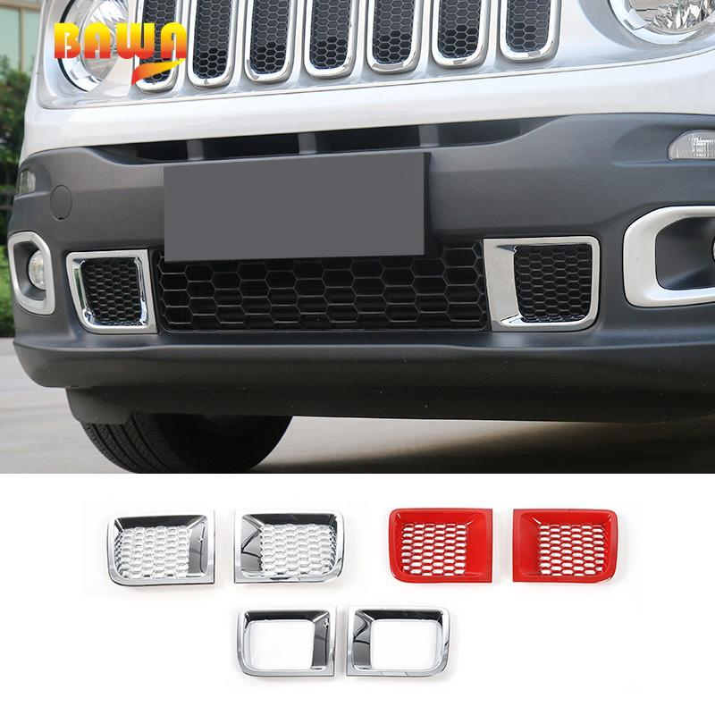 2019 Bawa Car Sticker For Jeep Renegade 2016 Abs Front Bumper Air
