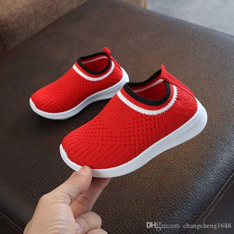 Kids Sneakers For Girls Children Casual Shoes Baby Sock Sneaker Spring Autumn 2019 Fashion Boys Child Sport Shoe #1