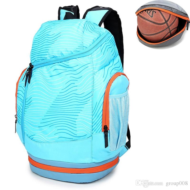 022a5fc320f4 Shoulder Sports Gym Bags Basketball Backpack School Bags For Teenager Boys  Soccer Ball Pack Laptop Bag Football Net Fitness Bag #1001432