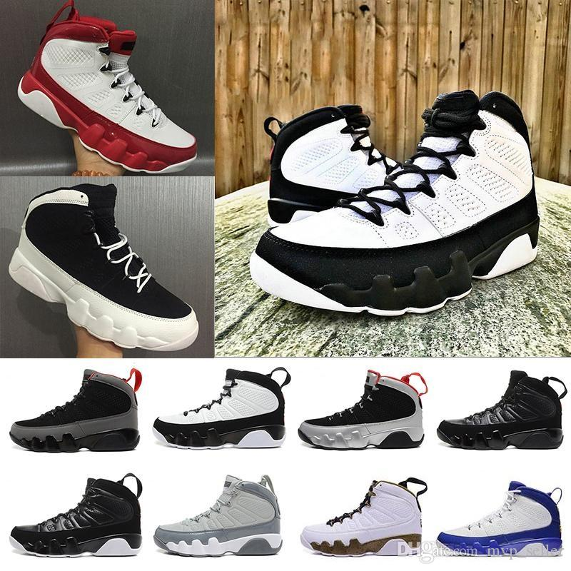 bc0e838fb1a New 9 Men Basketball Shoes OG Space Jam Cool Grey Anthracite Barons The  Spirit Doernbecher 2010 Release Tour Yellow PE Sports Sneaker Shoes Jordans  Sneakers ...