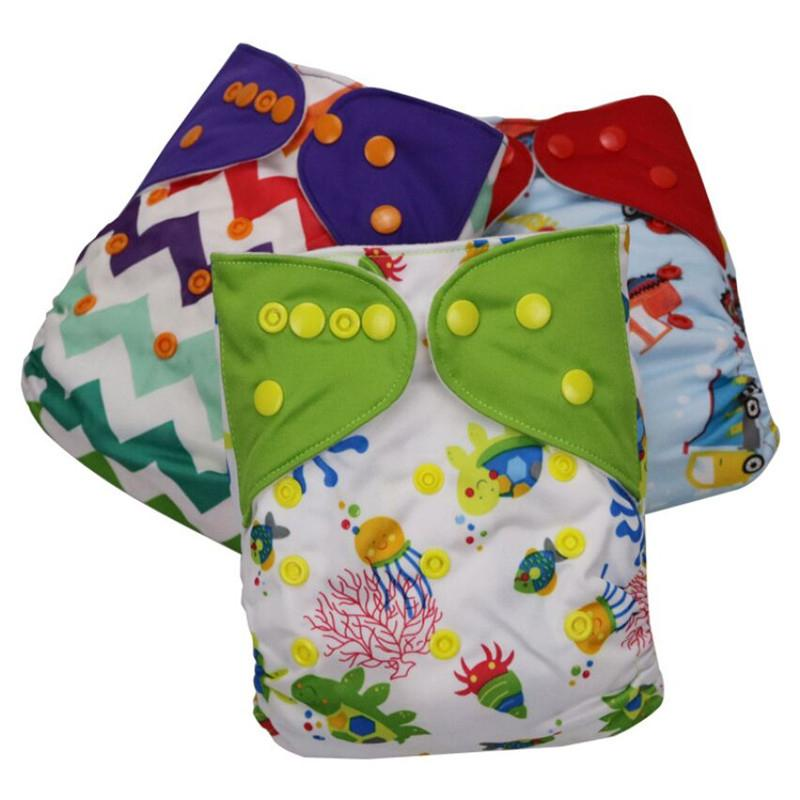 957bcce0ce6a Patchwork Infant Reusable Baby Diaper Cloth Diapers Diapers Covers ...